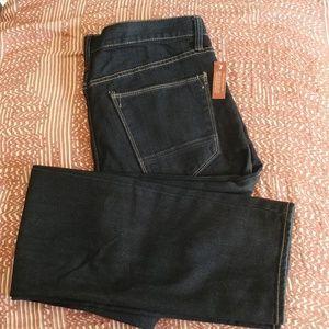 NWT Arizona men's dark wash slim fit skinny jeans